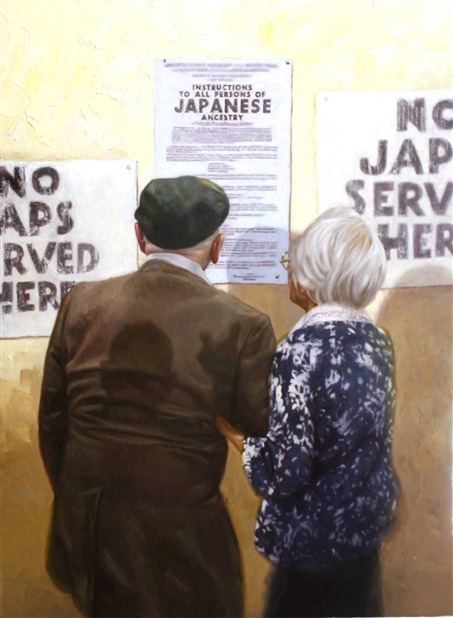 Chris Hopkins - Oil Painter - Internment - Broken Shadows